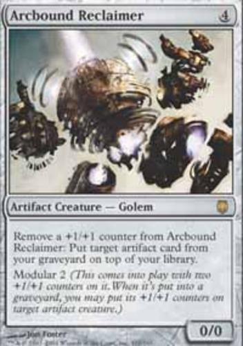 Artifact Darksteel Mtg Magic Rare 1x x1 1 PLAYED Arcbound Reclaimer
