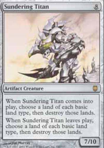 Sundering Titan 1x x1 MTG Darksteel Played English Magic