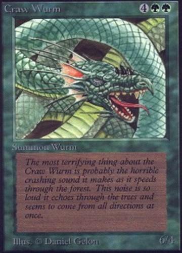 Ravager Wurm MTG Magic - NM//M M Ravnica Allegiance