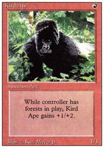 Revised NM MTG *CCGHouse* Magic Kird Ape X1