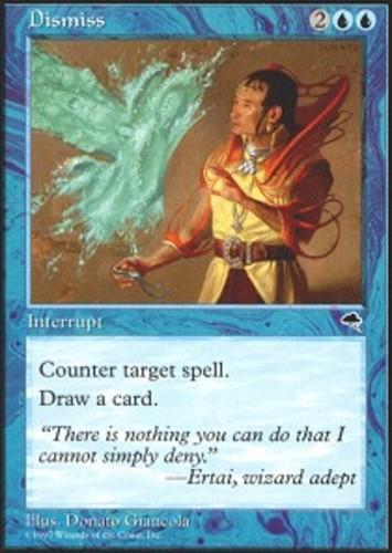 English Tempest MTG Magic 4x Chill Light Play