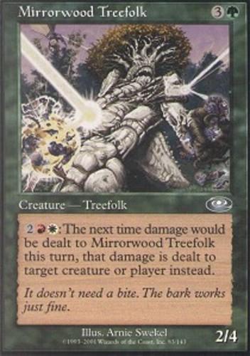 4 Magnigoth Treefolk = Green Planeshift Mtg Magic Rare 4x x4