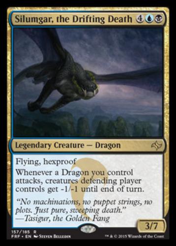 THE GOLDEN FANG Fate Reforged FRF Magic MTG MINT CARD FOIL TASIGUR