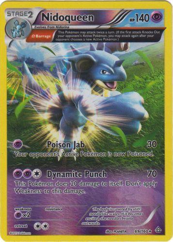 Pokemon EELEKTRIK 64//160 RARE HOLOFOIL NM CARD  PRIMAL CLASH