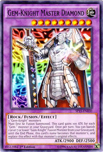 YuGiOh Gem-Knight Master Diamond - SP15-EN030 - Common - 1st Edition Near Mint