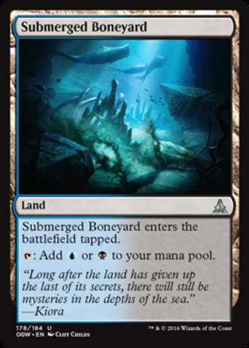 4 Submerged Boneyard ~ Near Mint Oath of the Gatewatch 4x x4 Playset UltimateMTG
