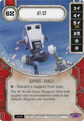 Star Wars Destiny Awakenings Complete Card x1 Sold with matching Die Jetpack