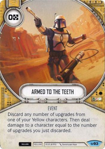 Star Wars Destiny Jango Fett Armed To The Teeth Proxy Card