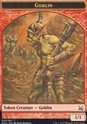 Merfolk vs English Duel Decks Goblins MTG Magic 10x Elemental Token NM-Mint