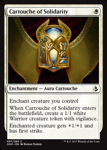 x4 Cartouche of Strength MTG Amonkhet C M//NM English