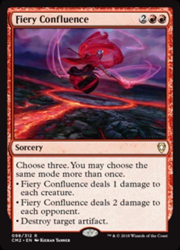 MTG Magic the Gathering Commander 2015 Fiery Confluence x1 1x NM