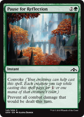 English Guilds of Ravnica MTG Magic 4x Pause for Reflection NM-Mint