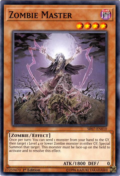 Zombie Necronize Common Near Mint 1st Edition x3 SR07-EN023
