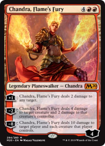 Mtg Chandra flamecaller  x 1 great condition