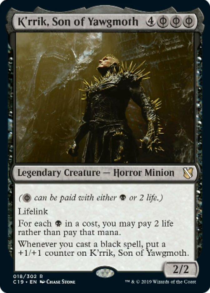 1 x MTG Patron of the Vein Commander 2017 Mint//Near-Mint English