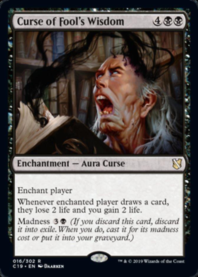 English x1 Curse of Predation MTG Iconic Masters M//NM